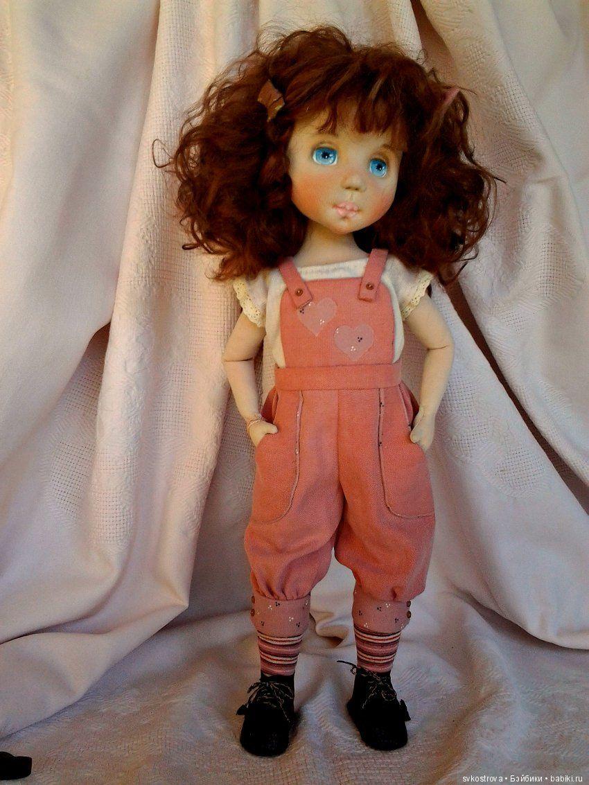 Юляшины каникулы. Моя новая текстильная кукла / Текстильная кукла своими руками из ткани / Бэйбики. Куклы фото. Одежда для кукол