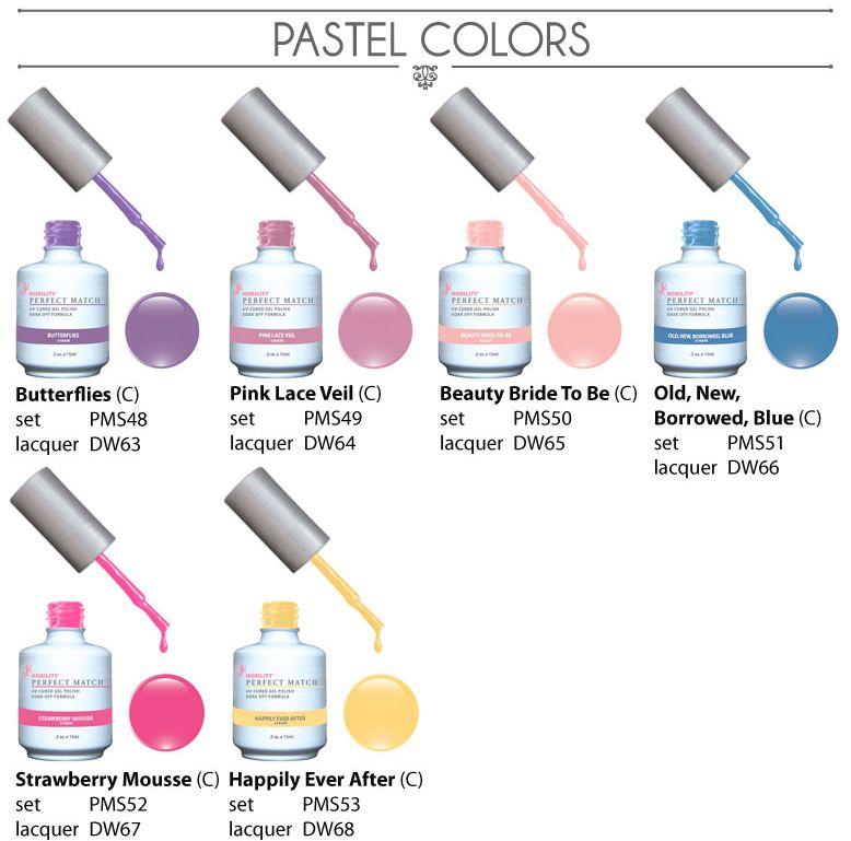 PERFECT MATCH™ pastel   Gel Polish   Pinterest   Gel color