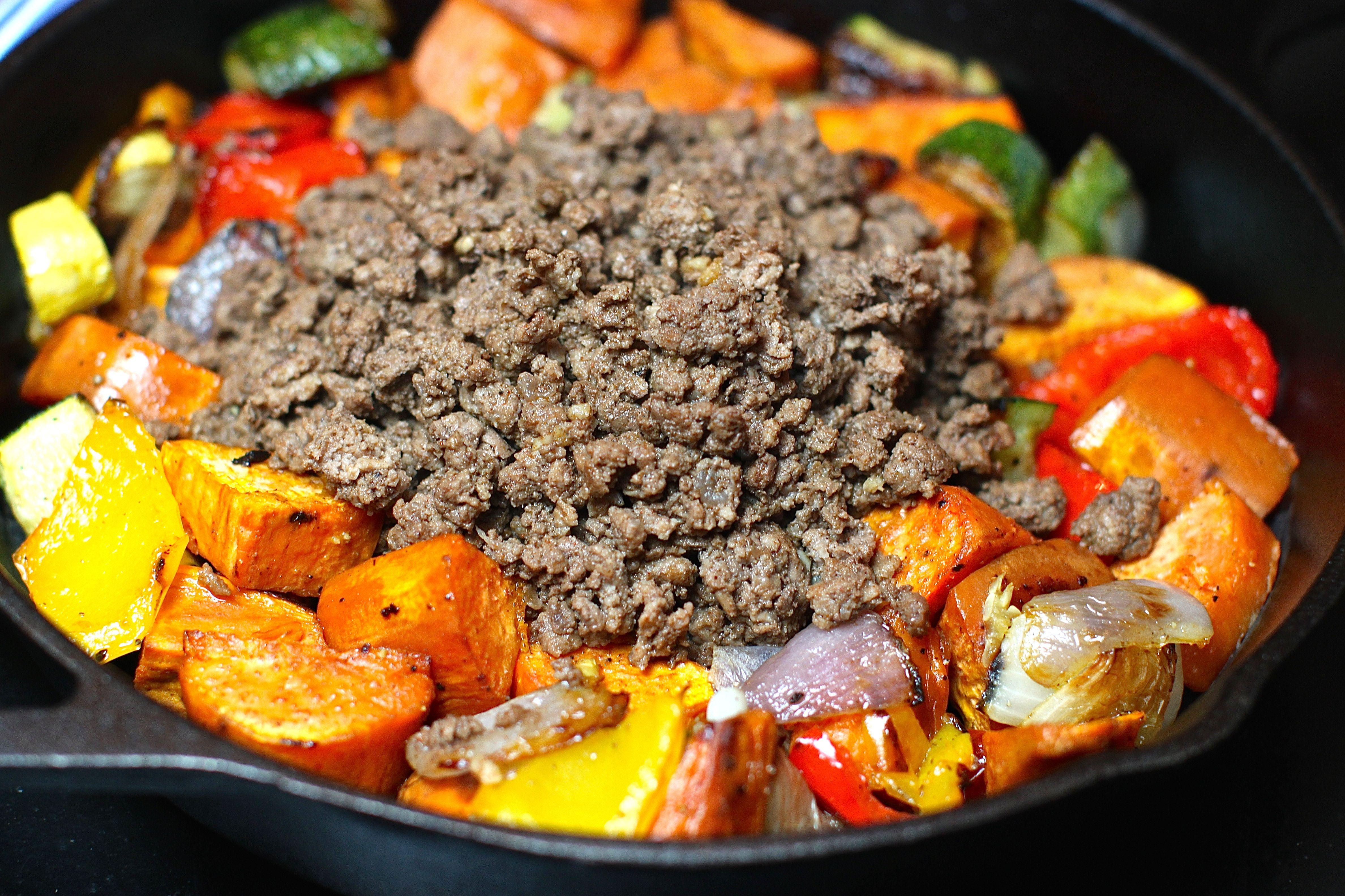 Paleo Ground Beef Sweet Potato Hash Sweet Potato Hash Paleo Ground Beef Clean Dinner Recipes