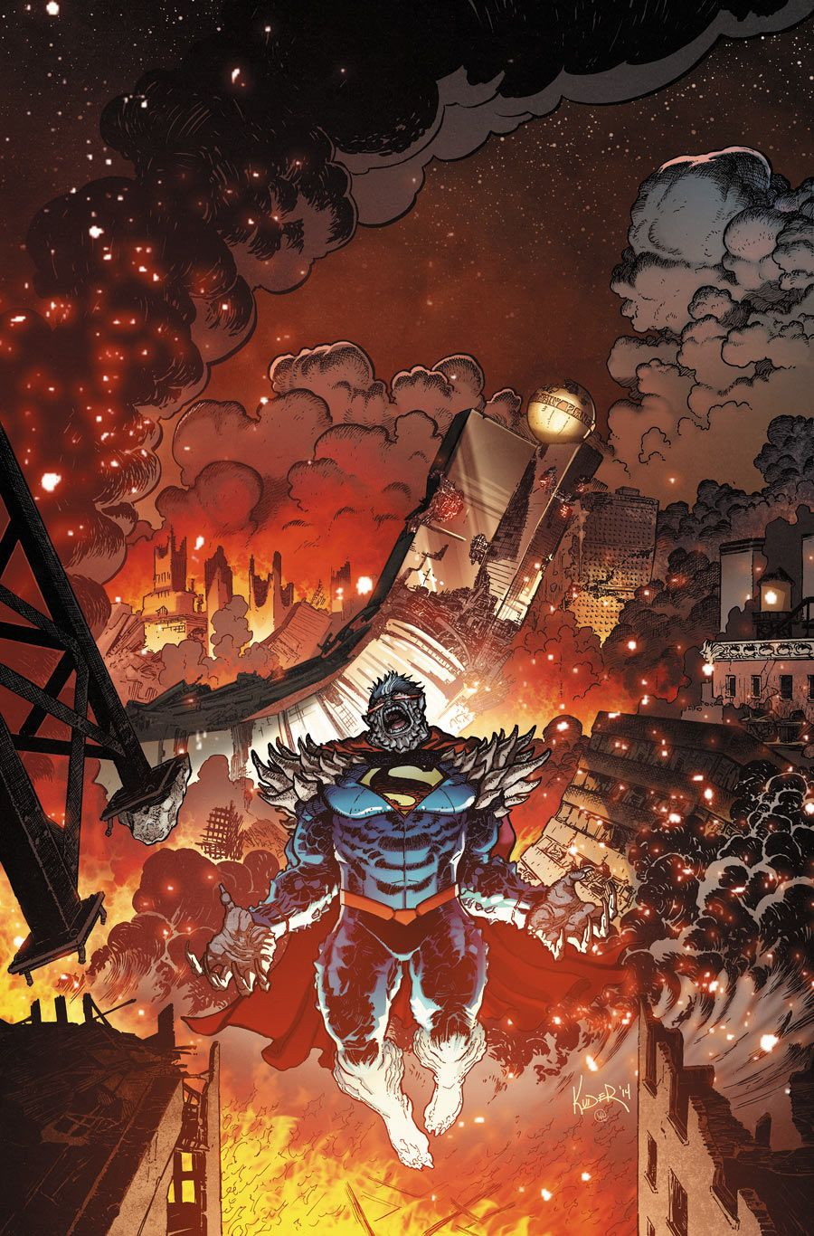 Doomed Superman by Aaron Kuder
