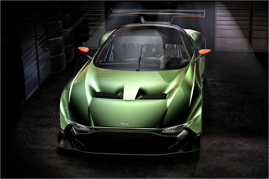 Enfraquecido o front-end da Vulcan poderia ser um modelo para carros de produção de estrada de Aston Martin