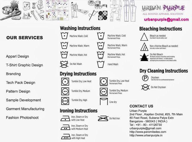 Clothing Tech Pack Designer Garment Manufacturer Care - apparel designer resume