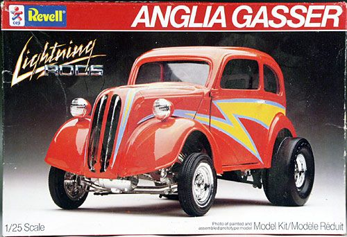 Revell 1951 Anglia Gasser Lightning Rods Model Cars Kits