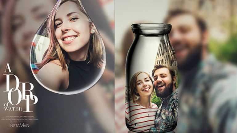 Ausgefallene Selfies mit der PIP Camera-App fürs iPhone.