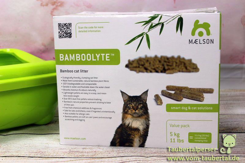 Katzenstreu Im Test Bamboolyte öko Katzenklumpstreu