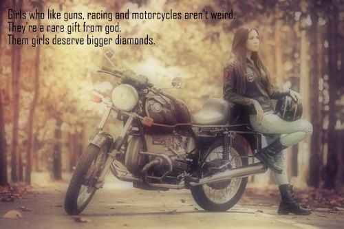 Most Popular Tags For This Image Include Girl Motorcycle And Quote Bike Quotes Motorcycle Bike Status