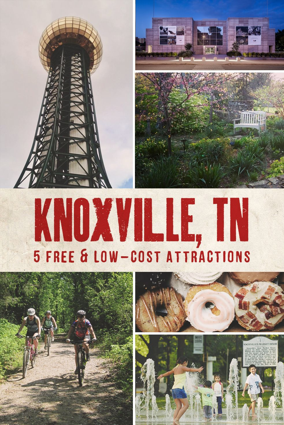Follow this guide when you visit Knoxville, Tennessee, to keep your wallet full and the fun flowing.