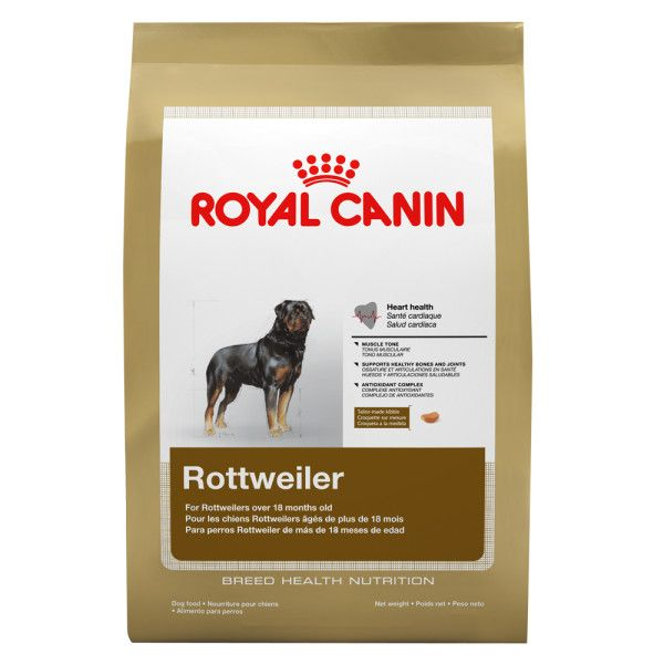 8 Off On Royal Canin Rottweiler Adult 3kg Royal Canin For Your Dog Rottweiler Pets Dog Food Recipes