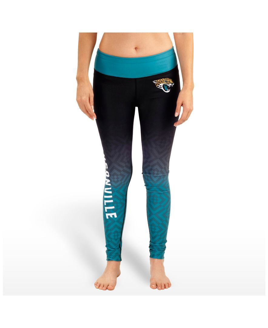 Forever Collectibles Women's Jacksonville Jaguars Ombre Leggings