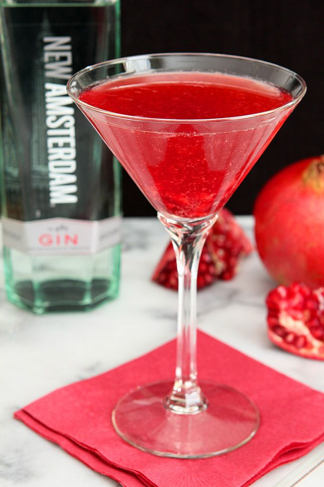 Imperial Pomegranate Cocktail Recipe Pomegranate Cocktails