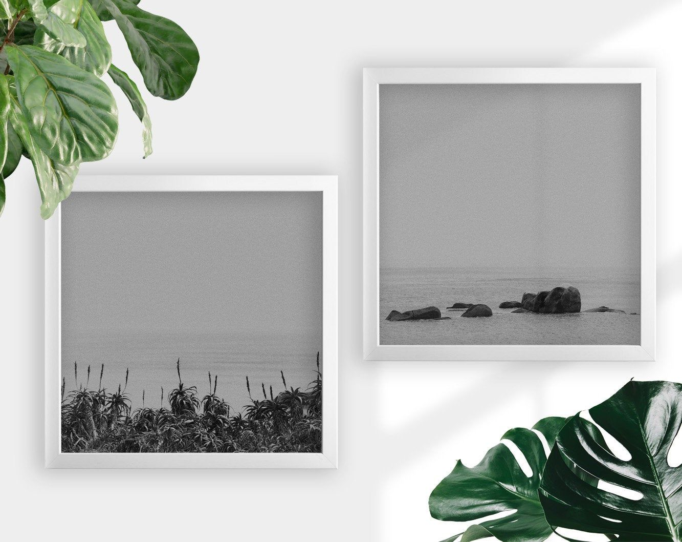 Moody Art Print Black And White Landscape 2 Piece Wall Art Etsy In 2020 Fine Art Prints Photographs Etsy Wall Art Black And White Wall Art