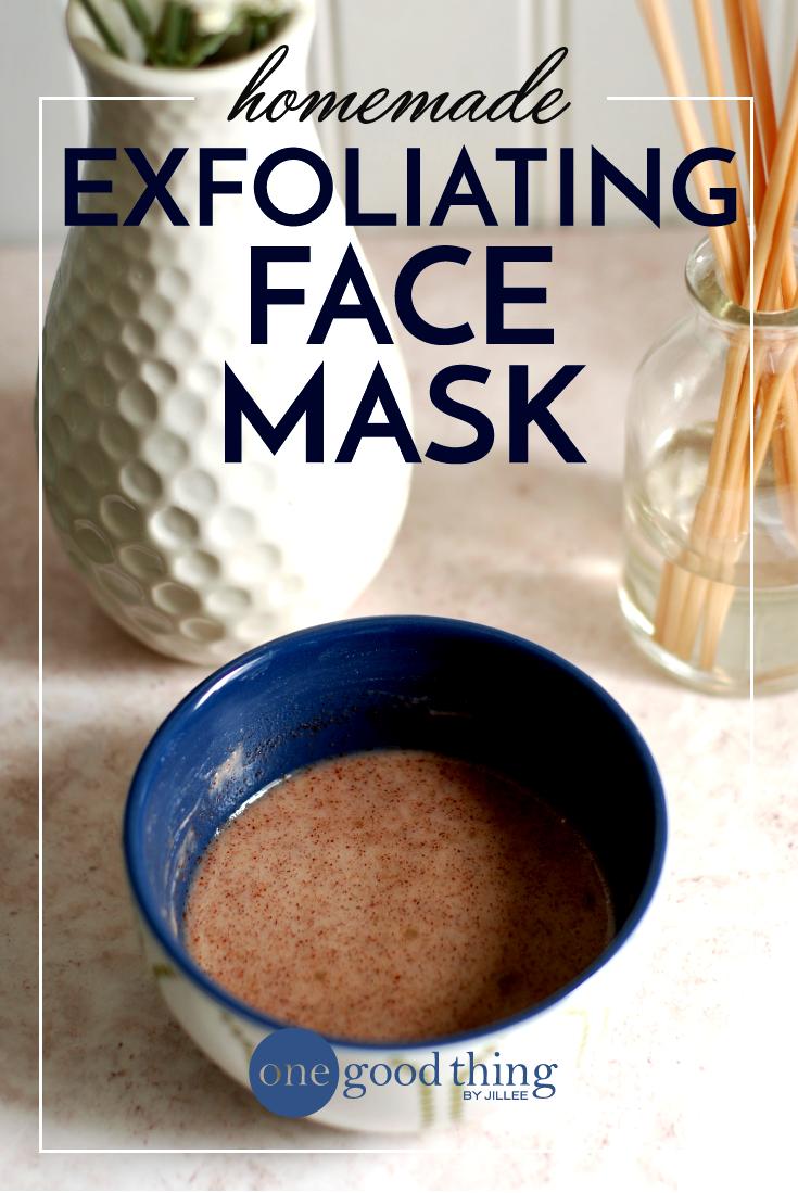 Homemade Exfoliating Face Mask Exfoliate face, Baking