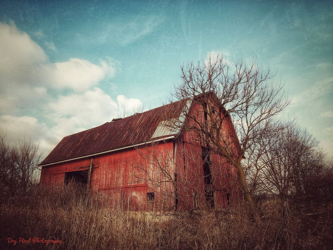 Abandoned barn in Roundhead, Ohio in 2020   Abandoned, Old ...