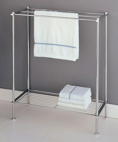 This Chrome Towel Rack Is Perfect This Elegant Rack Features A