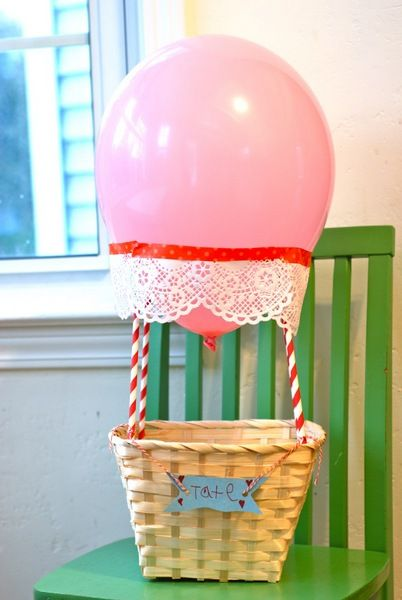 5 creative Valentine\'s Day boxes for school   Hot air balloons ...