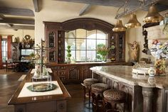Traditional Kitchen Designed By Lisa Barron, Dallas Design Group Interiors,  In Colleyville, TX