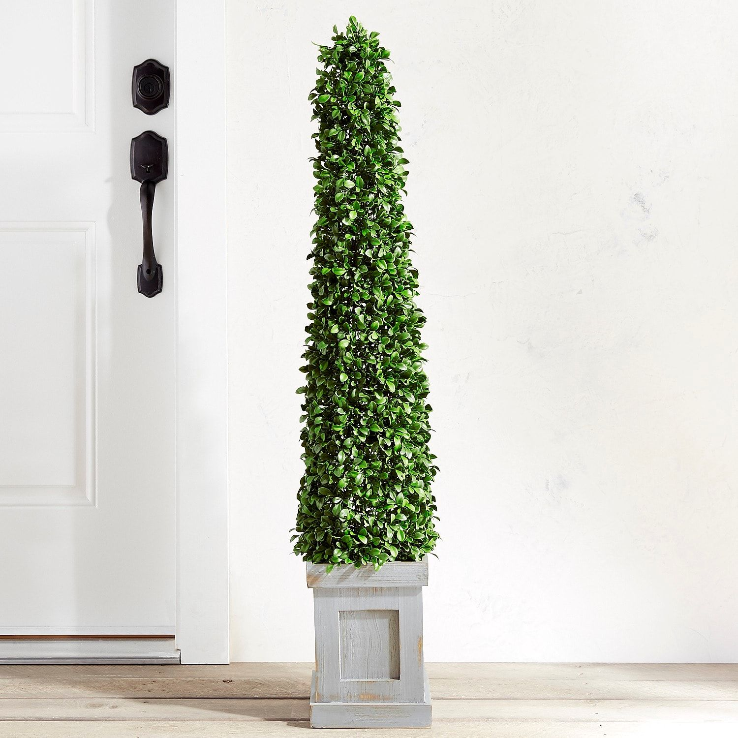 Outdoor Faux Boxwood Cone 48 Topiary Faux Outdoor Plants Artificial Trees Boxwood Garden