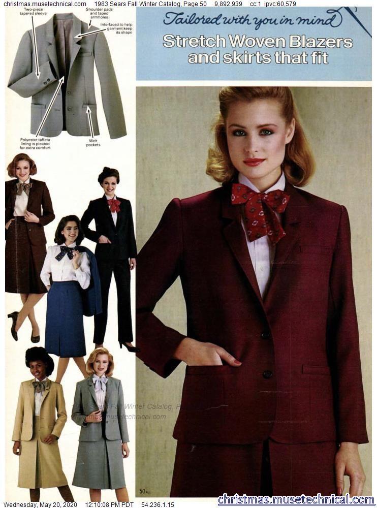 1983 Sears Fall Winter Catalog, Page 50 - Christma