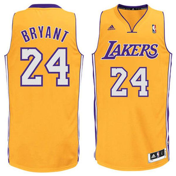 0d4dedbe884 Kobe  Bryant Jersey - Los Angeles  Lakers Yellow 24  Basketball Jersey.  Stitched name and numbers.  16.88