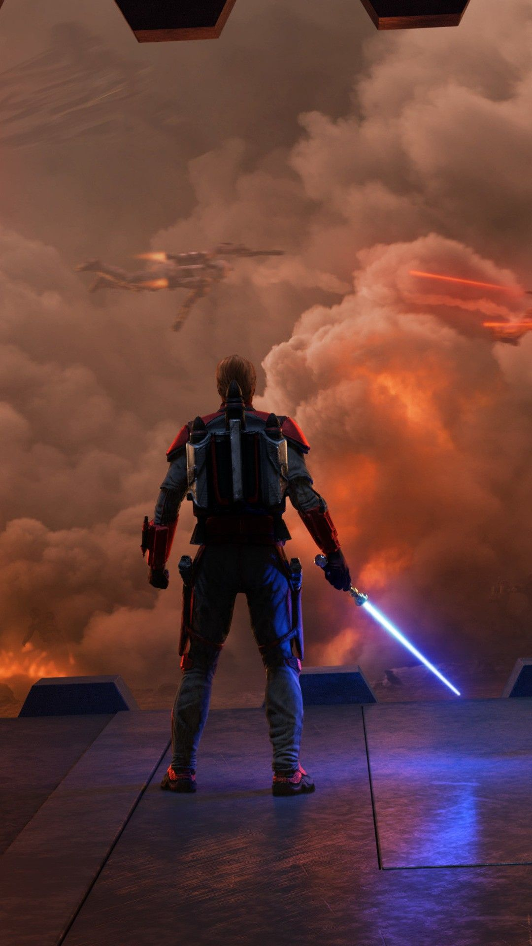 Star Wars Siege Of Mandalore Cs Wallpaper [1080x1920]