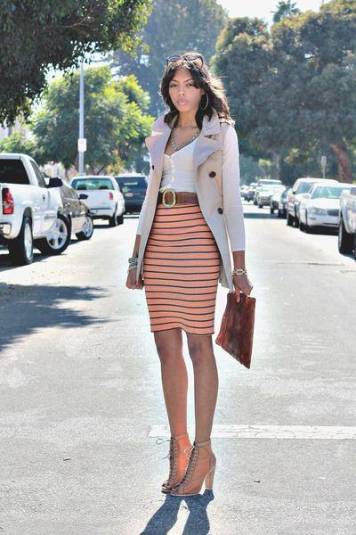 f93898eee ideas para usar faldas tubo - Buscar con Google   summer outfit ...