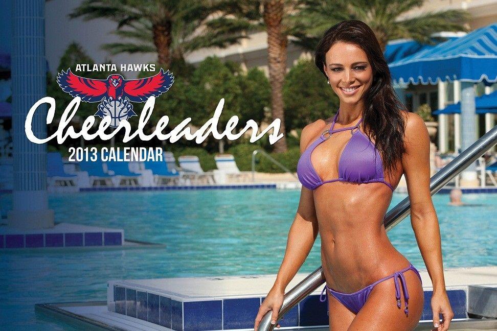 Hawks 2013 Cheerleader Calendar