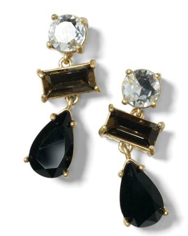 Classic Drop Earrings @Club Monaco Scarborough Town Centre. #earrings #gemstones