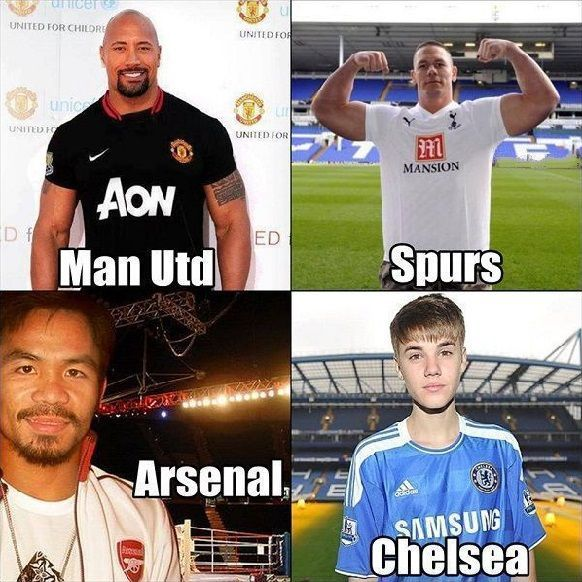 Premier League Druzyny Premier League W Tym Sezonie Funny Soccer Memes Soccer Memes League Memes