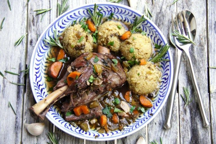 Photo of Best Braised Lamb Shanks for the Easter Lunch or Dinner.
