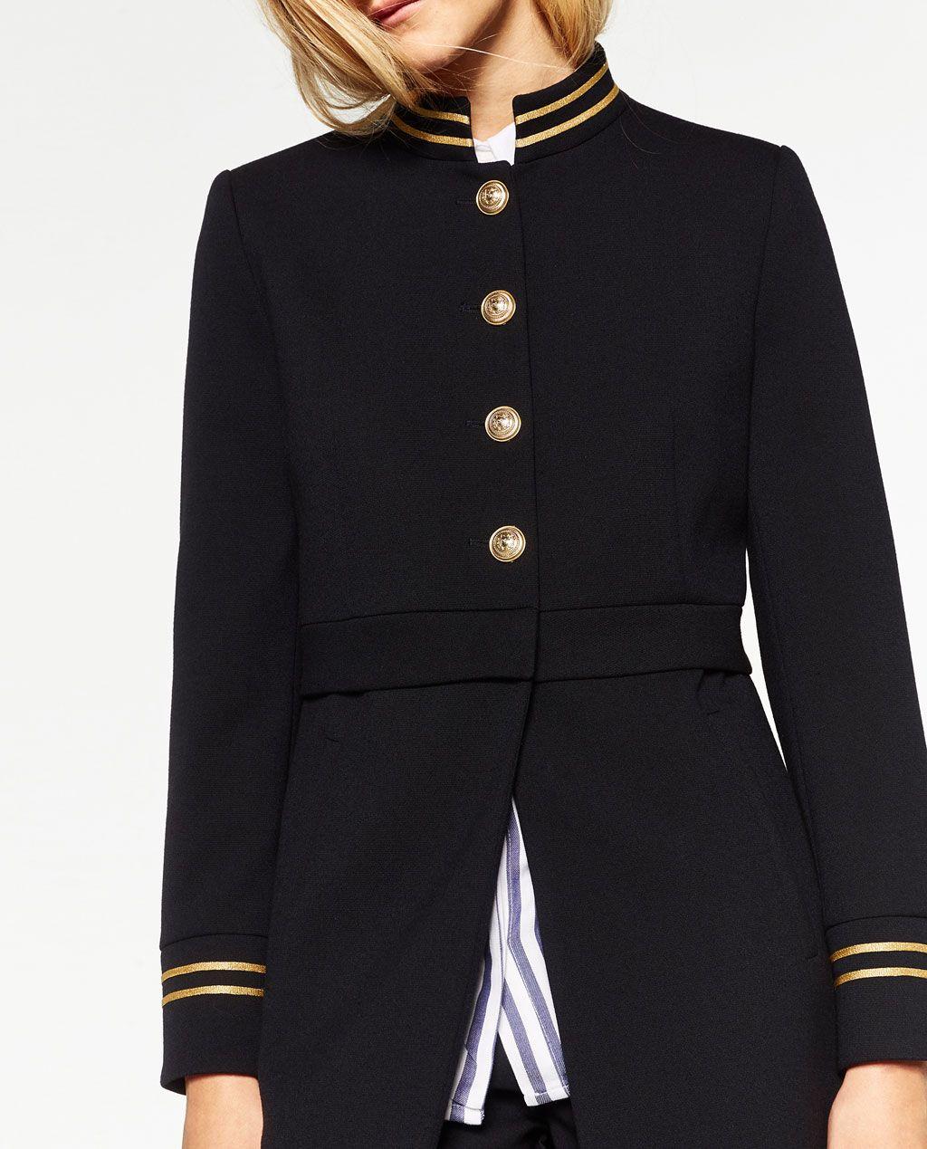 2019 Levita Jackets Y Cuello En Moda Coat Mao Zara Bwxztwq6