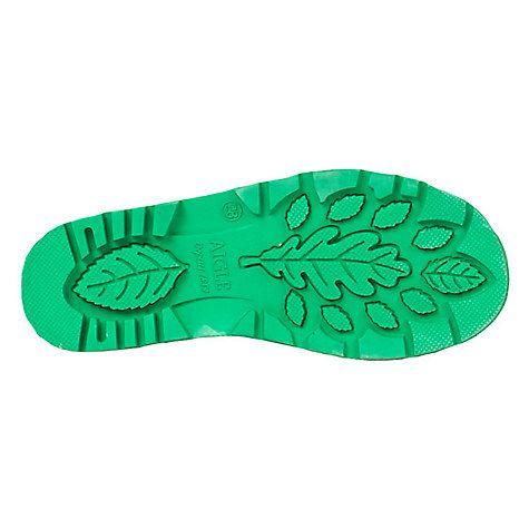 Aigle Children's Strap Fastener Wellington Boots, Bright