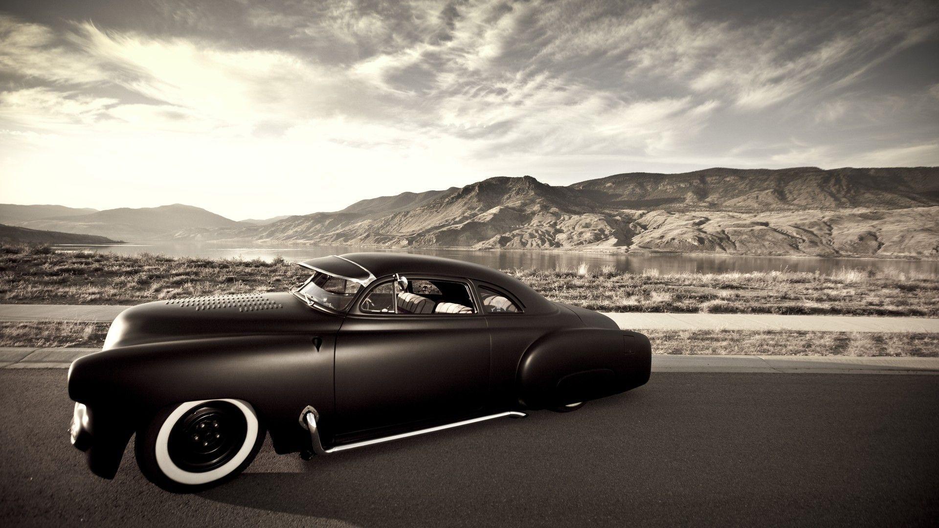 Vehicles Cars Rat Rod Hot Custom Lowrider Sepia Iphone