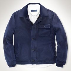 French Terry Deck Jacket - Polo Ralph Lauren Sweatshirts - RalphLauren.com