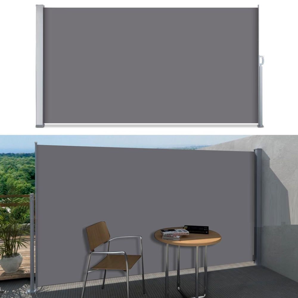 Seitenmarkise Markise Rollo Sichtschutz Seitenrollo Balkon