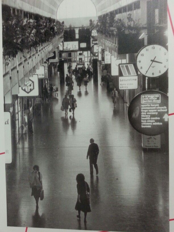 Weston favell shopping centre. Back in the day.