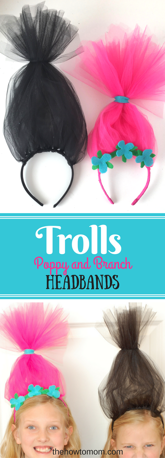 Easy trolls headband diy couple crafts super easy and couples easy trolls headband diy the how to mom solutioingenieria Image collections