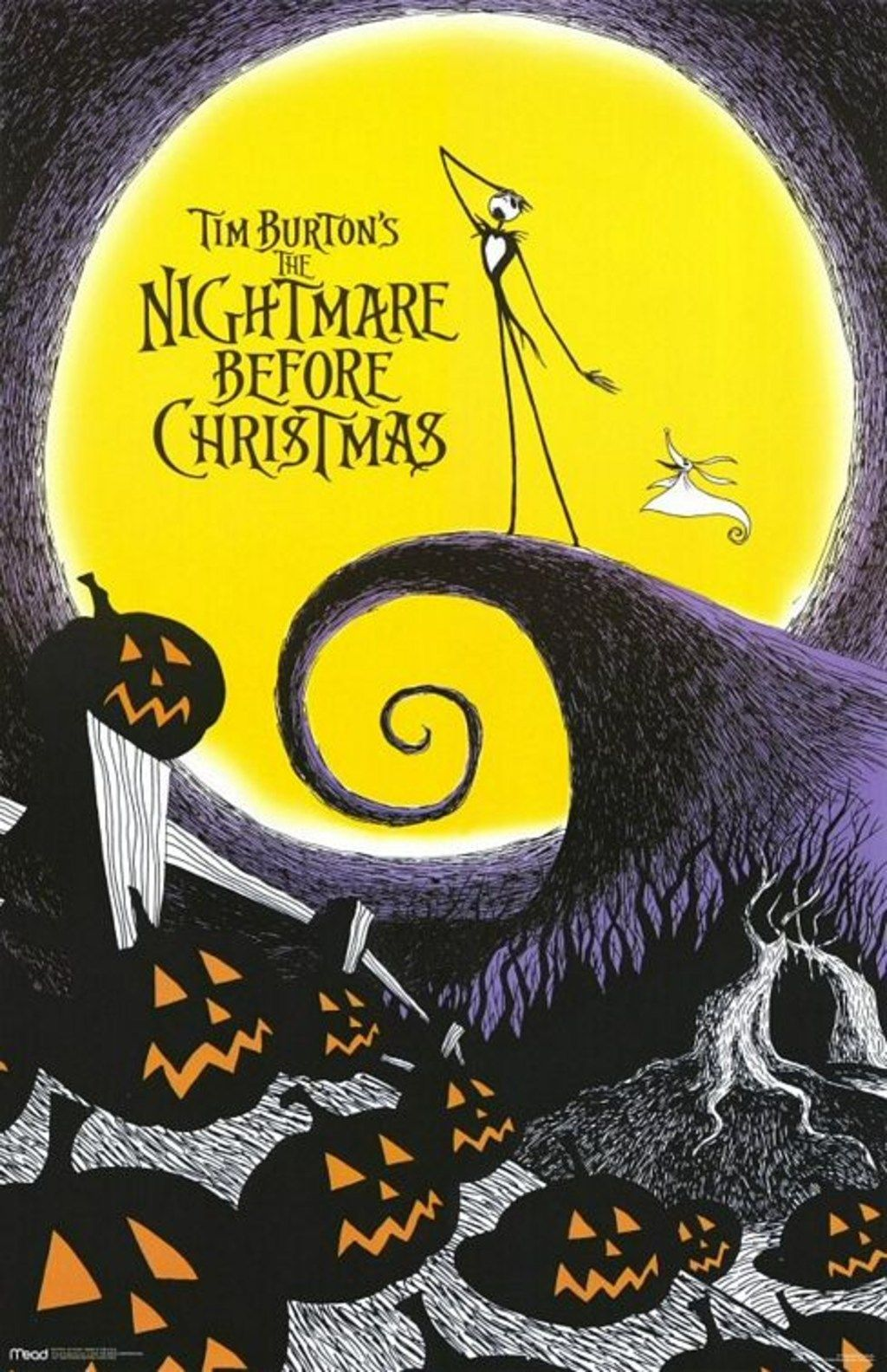 official poster | Nightmare Before Christmas | Pinterest