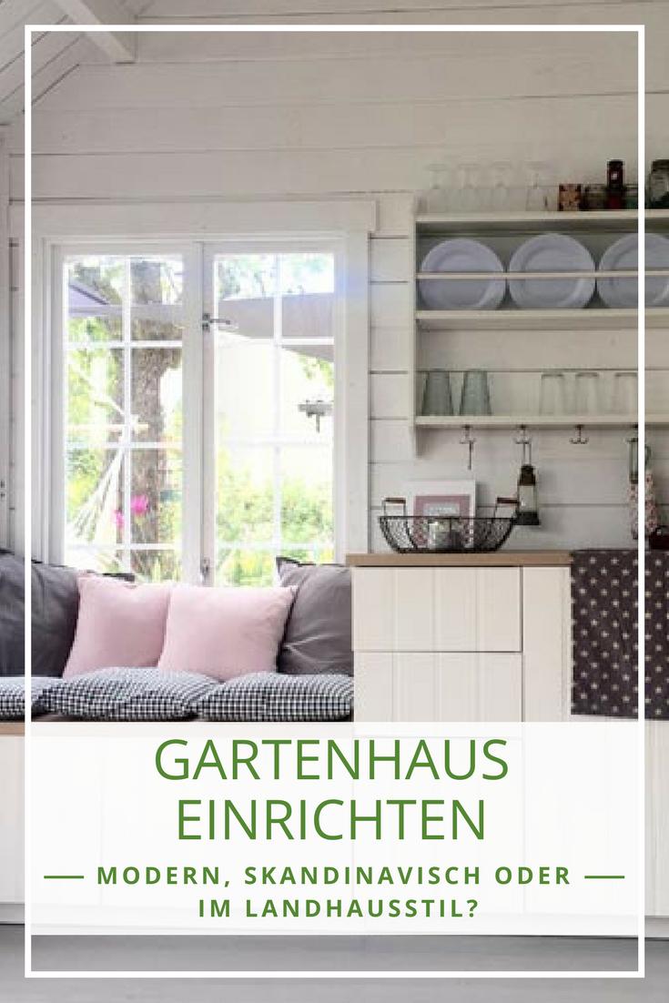 Hochwertig Gartenhaus Einrichten Modern, Skandinavisch, Mediterran
