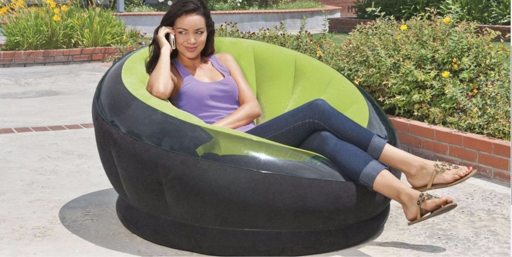 Inflatable Chair Canada Mobile Hunter Portable Shooting Chairs For Adults Pool Lounge Deck Seat Air Blow Up Bean Bag Intex