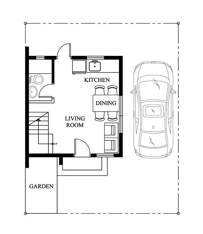 pinoy house design-2015008-ground-floor-plan Cool Houseplans - copy garage blueprint maker
