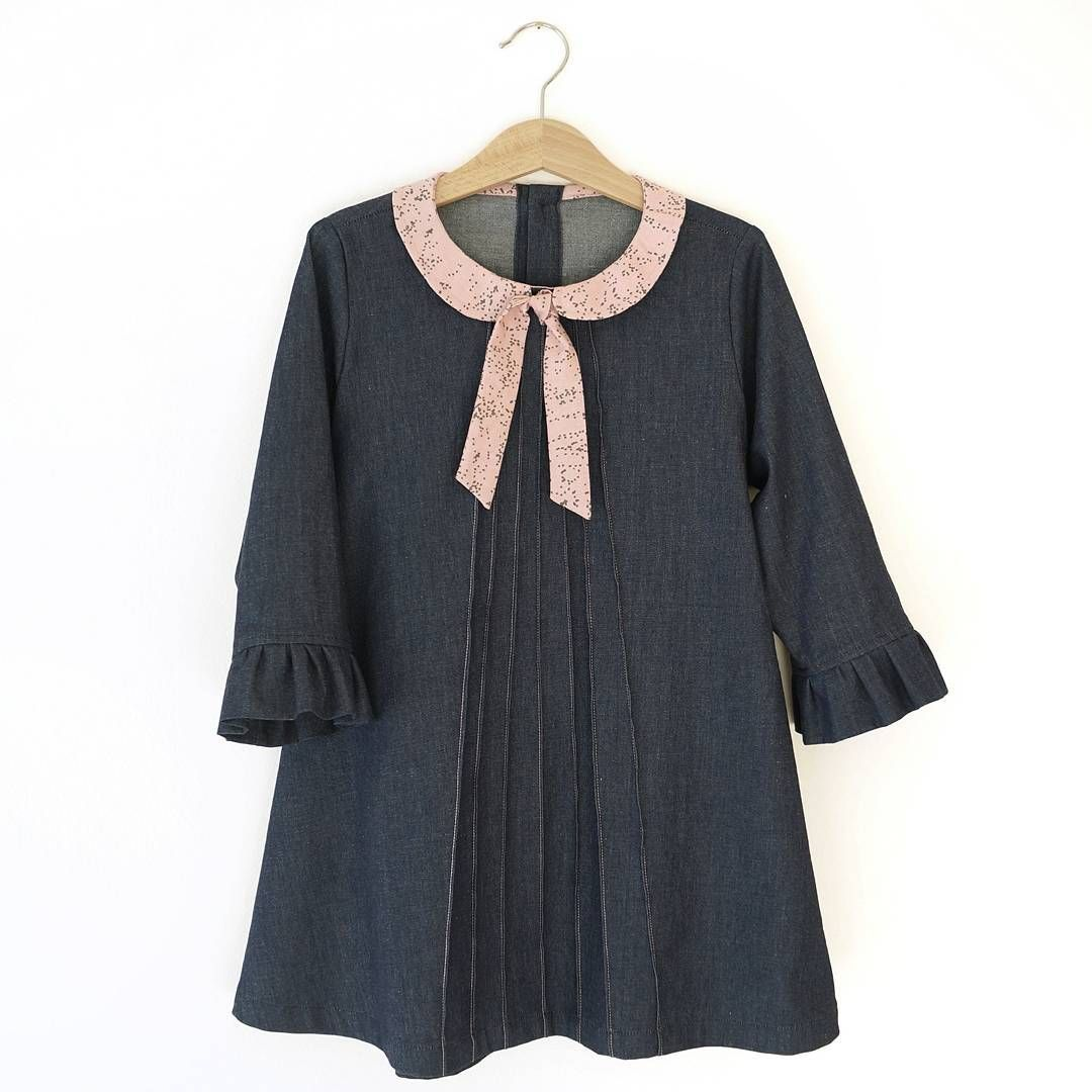Knippie patronen jurk - Knippie Mädchen Party Kleid nähen - Sewing ...