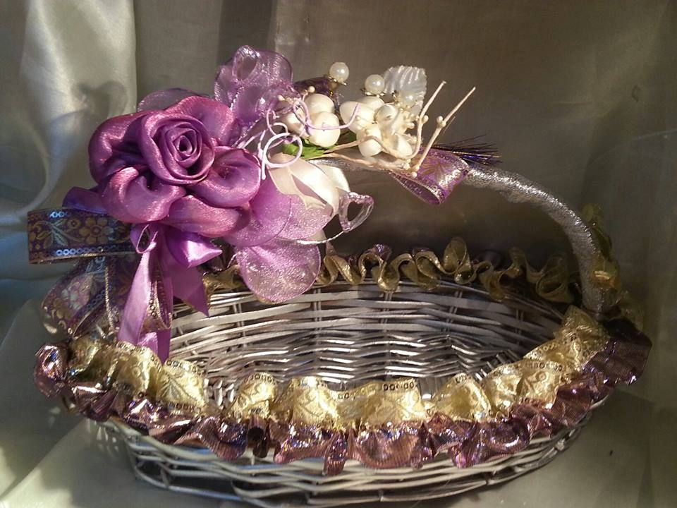 Decorative Basket Gift And Trousseau Packing Concepts Wedding