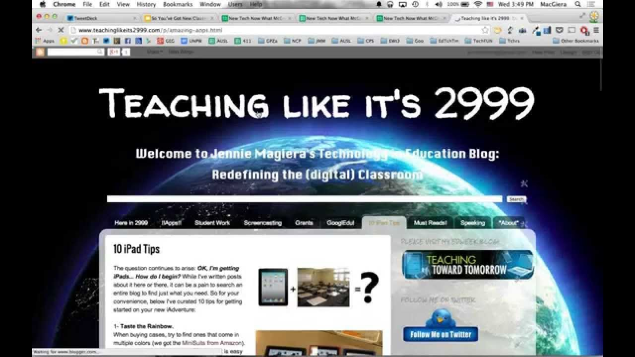 So You've Got New Classroom Tech Now What? SUMMARY