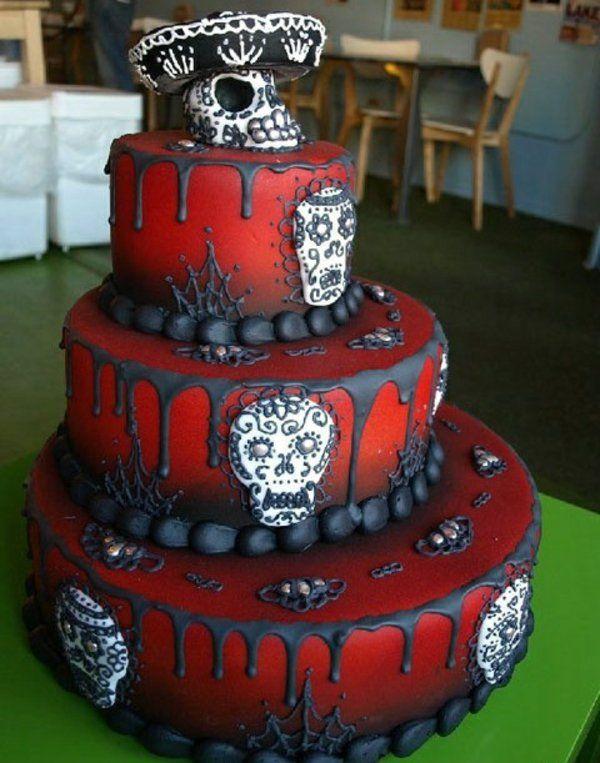 Halloween Kuchen Deko Wahnsinnige Torten Ideen Halloween Kuchen