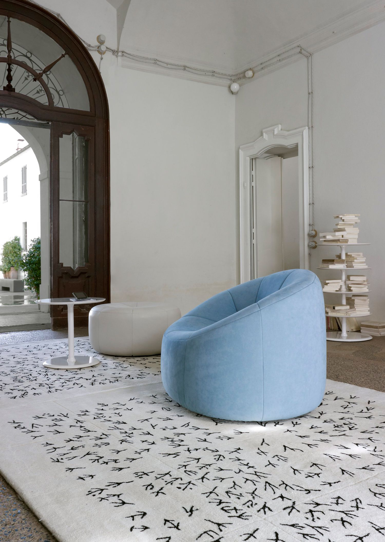 Pumpkin Armchair Designed By Pierre Paulin For Ligneroset