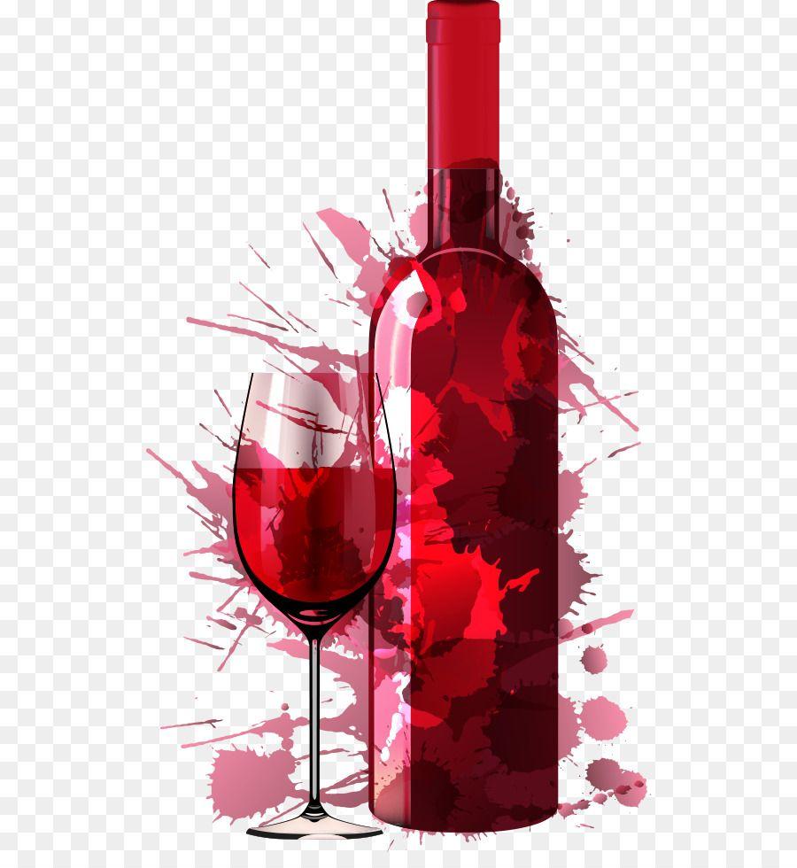 Wine Party Painting Drink Dinner Vector Creative Red Wine Png Is About Is About Dessert Wine Alcohol Glass Bot Arte De Vino Tatuaje De Vino Diseno De Marca