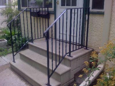 Best Aluminum Handrails For Concrete Steps Steps 640 x 480