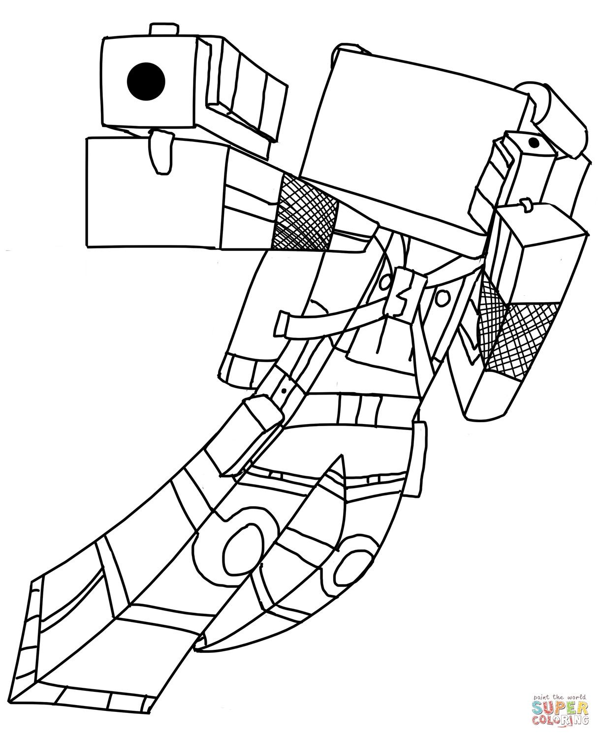 Minecraft Ocelot Coloring Page Youngandtae Com Minecraft Coloring Pages Dragon Coloring Page Coloring Pages Inspirational