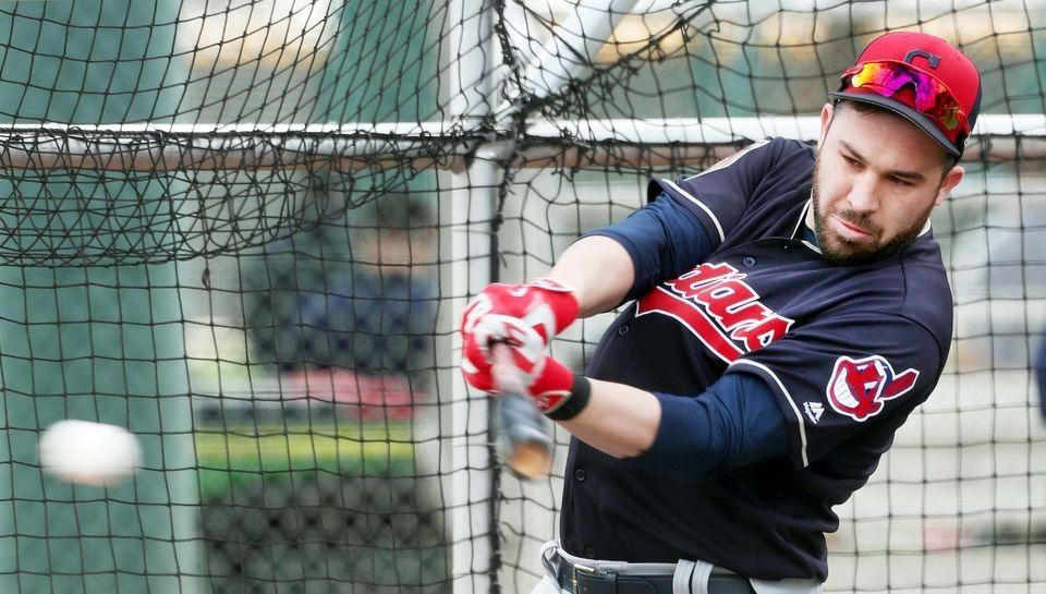 Cleveland Indians Jason Kipnis, spring training 2018, in