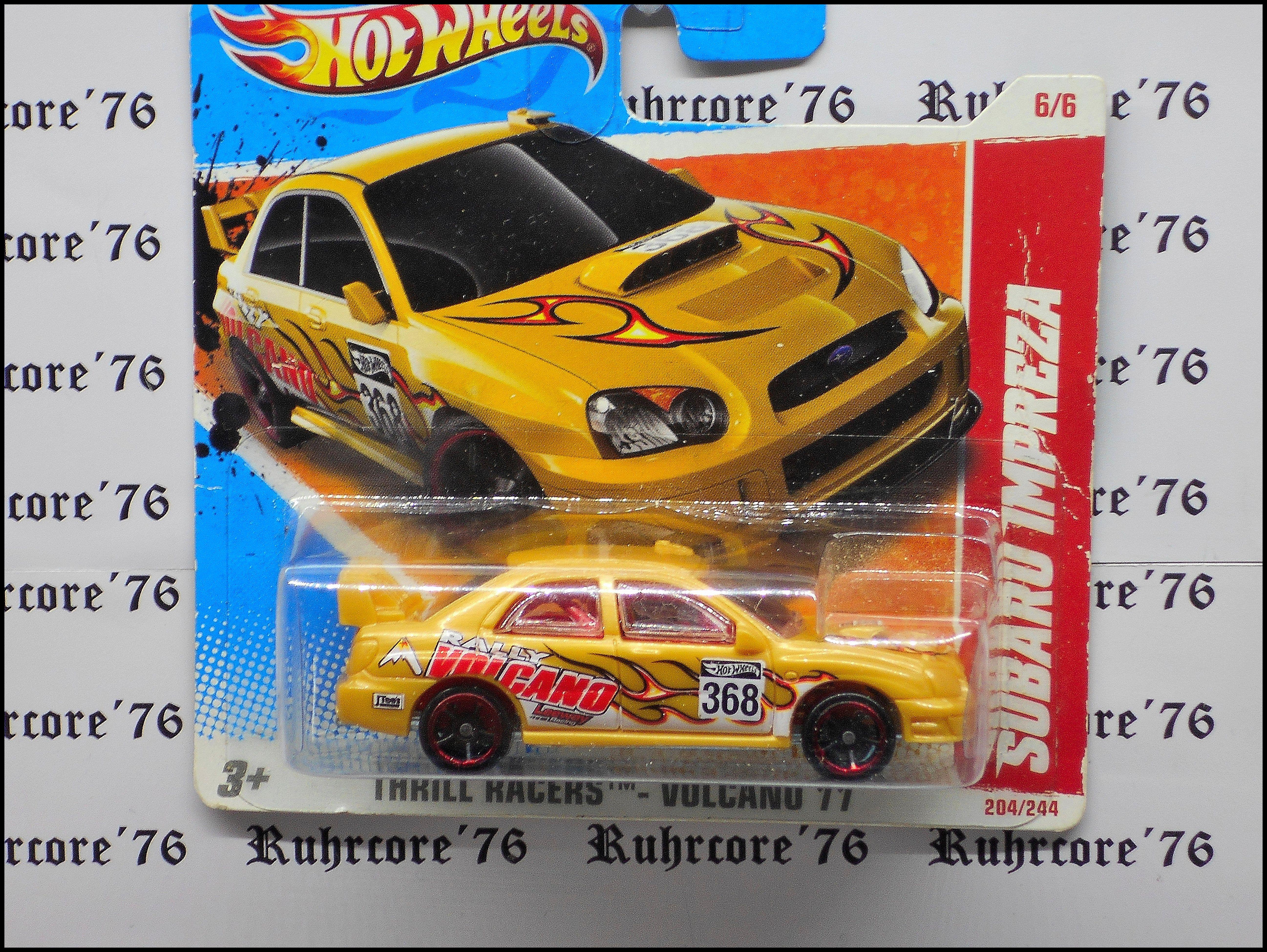 Hot Wheels Subaru Impreza Wrx 2004 Subaru Subaru Impreza Hot Wheels